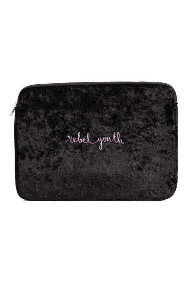 Laptop case - Black/Velvet - Ladies | H&M GB