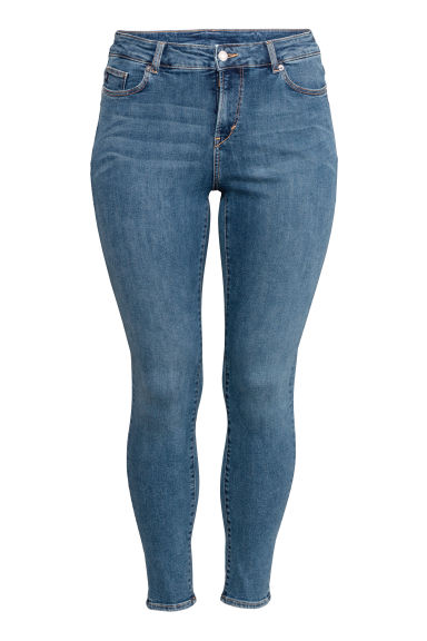 H&M+ Shaping Skinny Jeans - Denim blue - Ladies | H&M IE