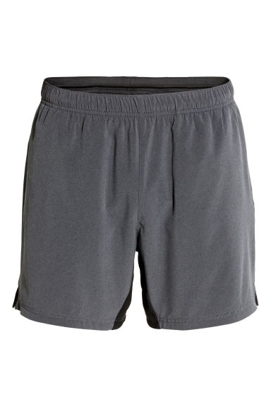 Running shorts - Dark grey - Men | H&M