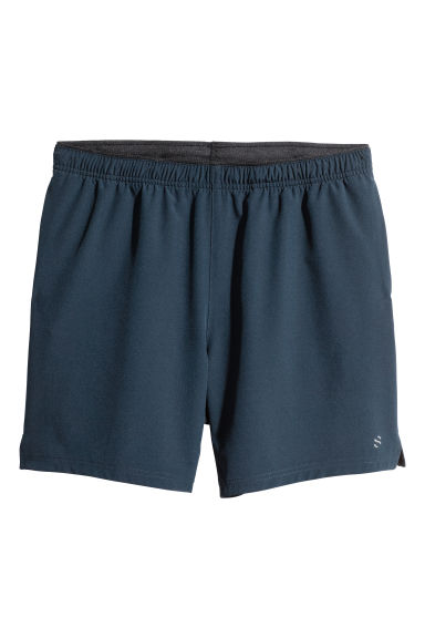 Running shorts - Dark blue -  | H&M
