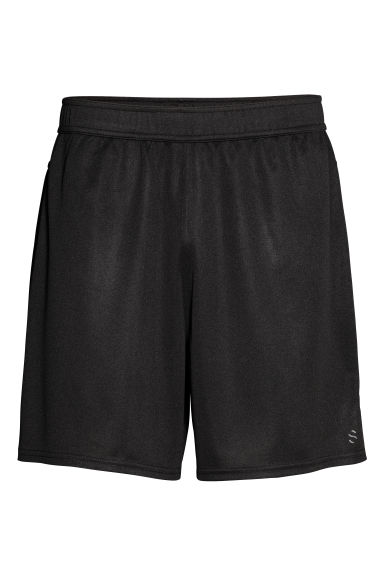 Sports shorts - Black -  | H&M