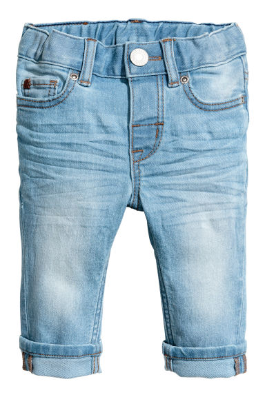 Slim fit Jeans - Blu denim chiaro -  | H&M IT
