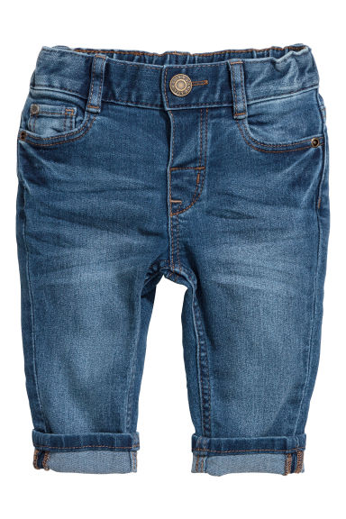 Slim fit Jeans - Denimblauw -  | H&M NL