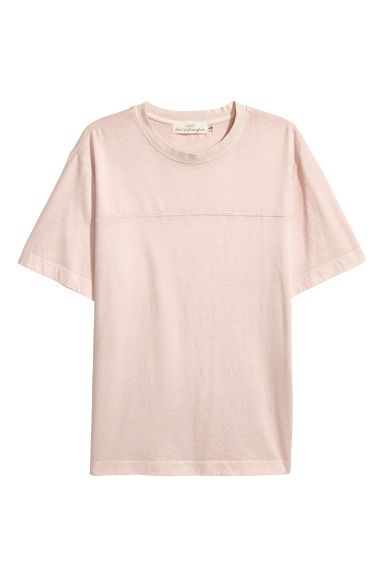 T-shirt - Rose poudré -  | H&M BE