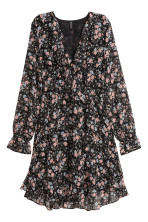 Black/Small floral