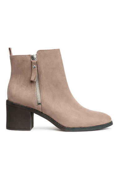 Ankle boots - Beige - Ladies | H&M CN