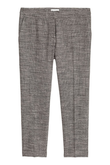 Pantalon de costume - Gris foncé chiné -  | H&M BE