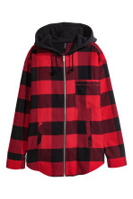 Red checked/Flannel