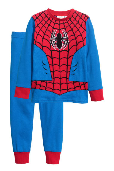 Pigiama in jersey - Blu/Spiderman -  | H&M IT