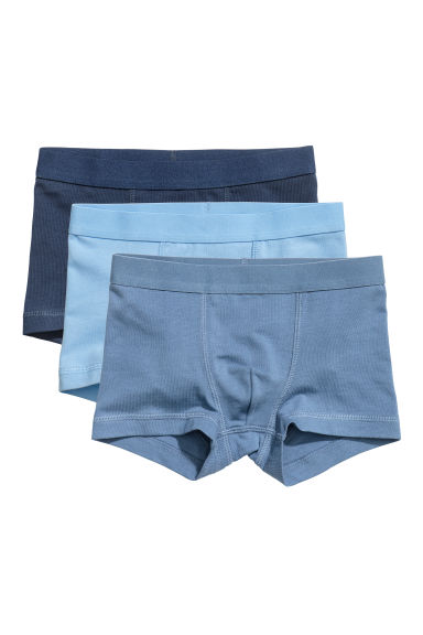 3-pack boxer shorts - Dark blue -  | H&M CN