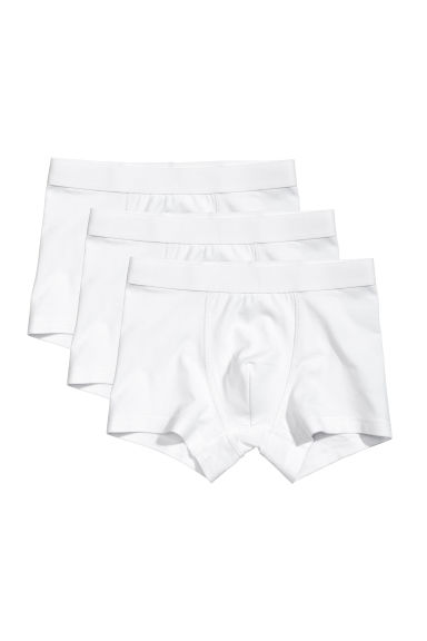 Set van 3 boxershorts - Wit -  | H&M BE