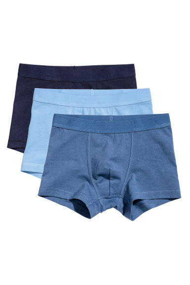 3-pack boxer shorts - Blue - Kids | H&M