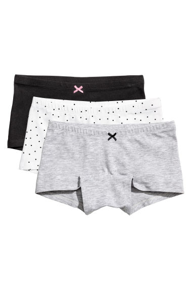 3-pack boxer briefs - Black - Kids | H&M CN