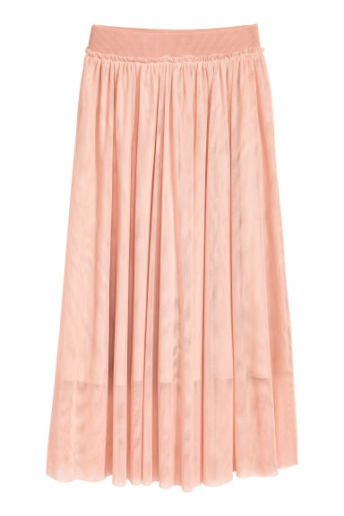 Tulle skirt - Powder - Ladies | H&M GB