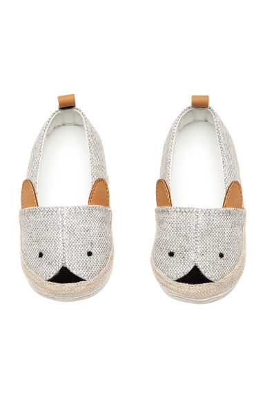 Espadrilles - Natural white/Grey - Kids | H&M CN