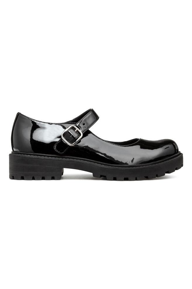 7542746dd3b Schoenen met grove zool - Zwart - | H&M ...