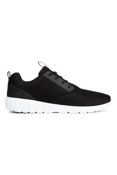 Mesh trainers - Black -  | H&M CN