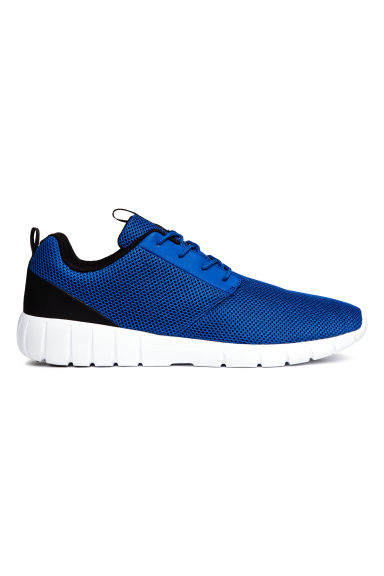 Mesh trainers - Cornflower blue - Men | H&M CN