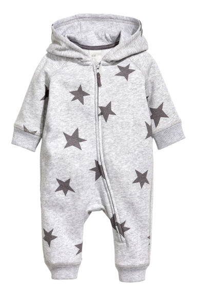 Sweatshirt all-in-one suit - Grey - Kids | H&M CN