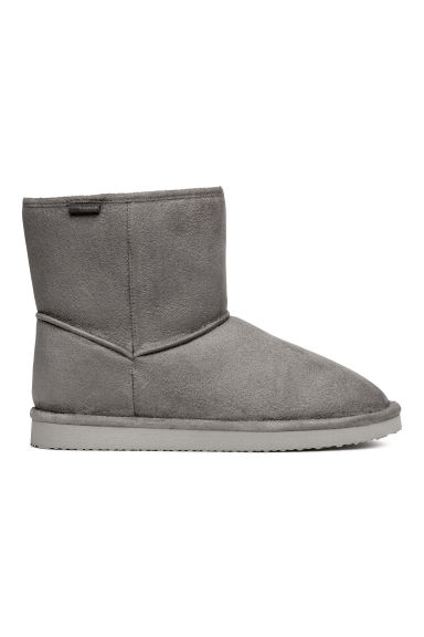 Soft boots - Grey - Ladies | H&M CN