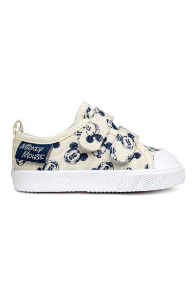 Trainers - Light beige/Mickey Mouse - Kids | H&M
