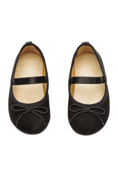 Ballet pumps - Black - Kids | H&M CN