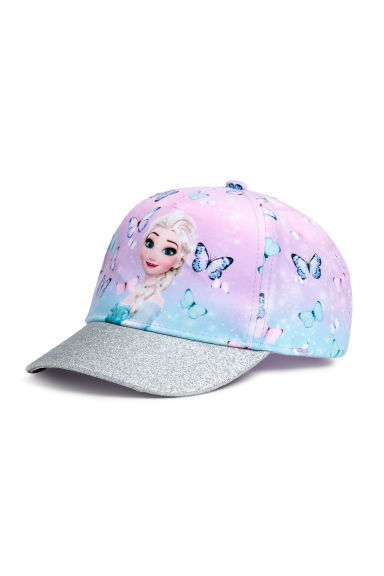 Printed cap - Purple/Frozen -  | H&M CN
