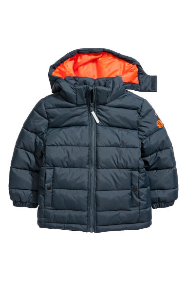 Padded jacket - Dark blue -  | H&M CN
