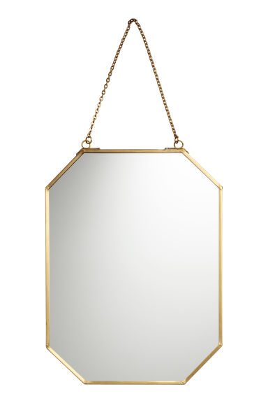 Metal-framed Mirror - Gold-colored - Home All   H&M US