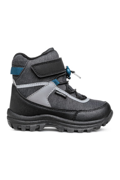 Waterproof boots - Dark grey marl -  | H&M