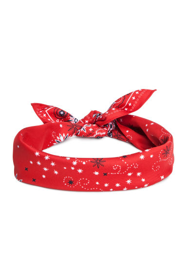 Scarf/Hairband - Red - Ladies | H&M US