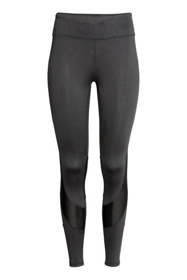 Running tights - Black -  | H&M