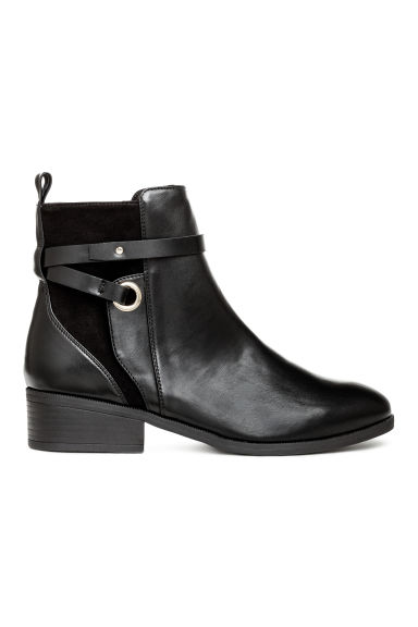 Boots with straps - Black -  | H&M