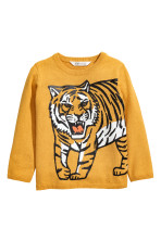Mustard yellow/Tiger