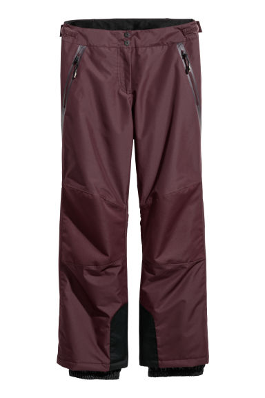 Ski trousers - Burgundy - Ladies | H&M IE