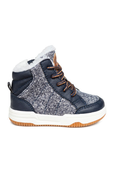 Warm-lined trainers - ダークブルー -  | H&M JP