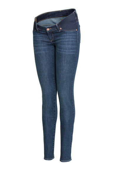 MAMA Super Skinny Low Jeans - Dark blue - Ladies | H&M GB