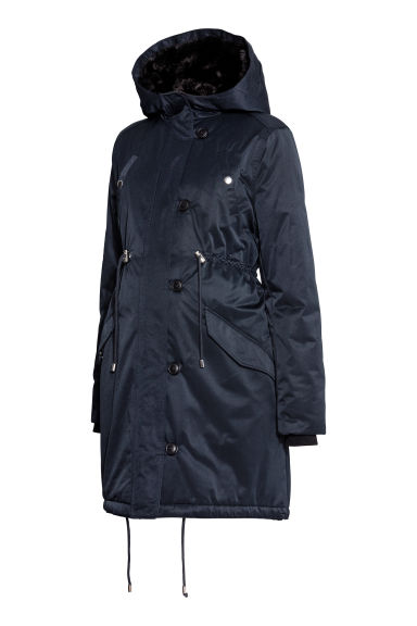 MAMA Padded jacket - Dark blue -  | H&M GB
