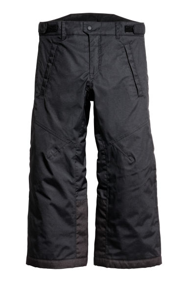 Padded outdoor trousers - Black - Kids | H&M CN