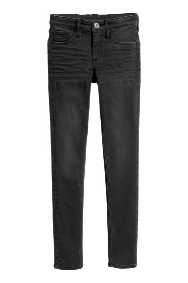 Superstretch Skinny Fit Jeans - 牛仔黑 - Kids | H&M CN