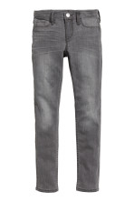 Dark grey denim