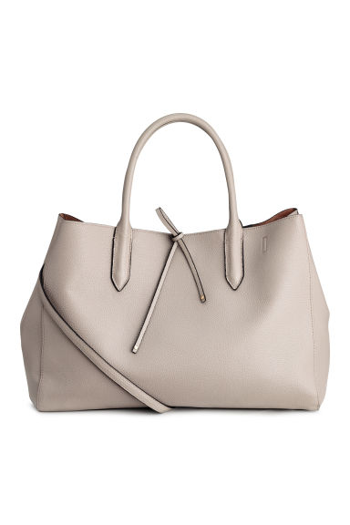 Sac shopping - Taupe clair -  | H&M BE