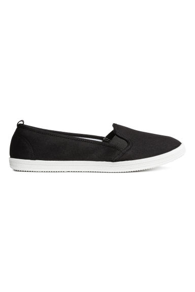 Slip-on trainers - Black - Ladies | H&M GB