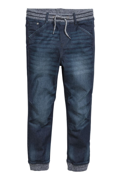 Super Soft jeansjoggers - Donker denimblauw - KINDEREN | H&M BE