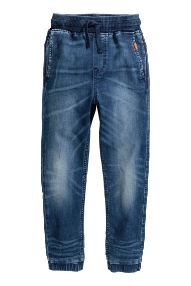 Pantalon jogger Super Soft - Bleu denim - ENFANT | H&M BE