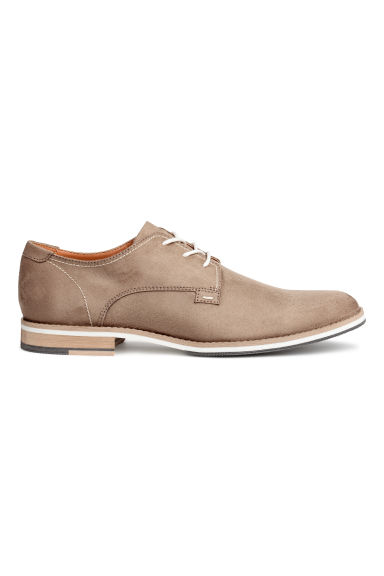 Derby shoes - Beige - Men | H&M