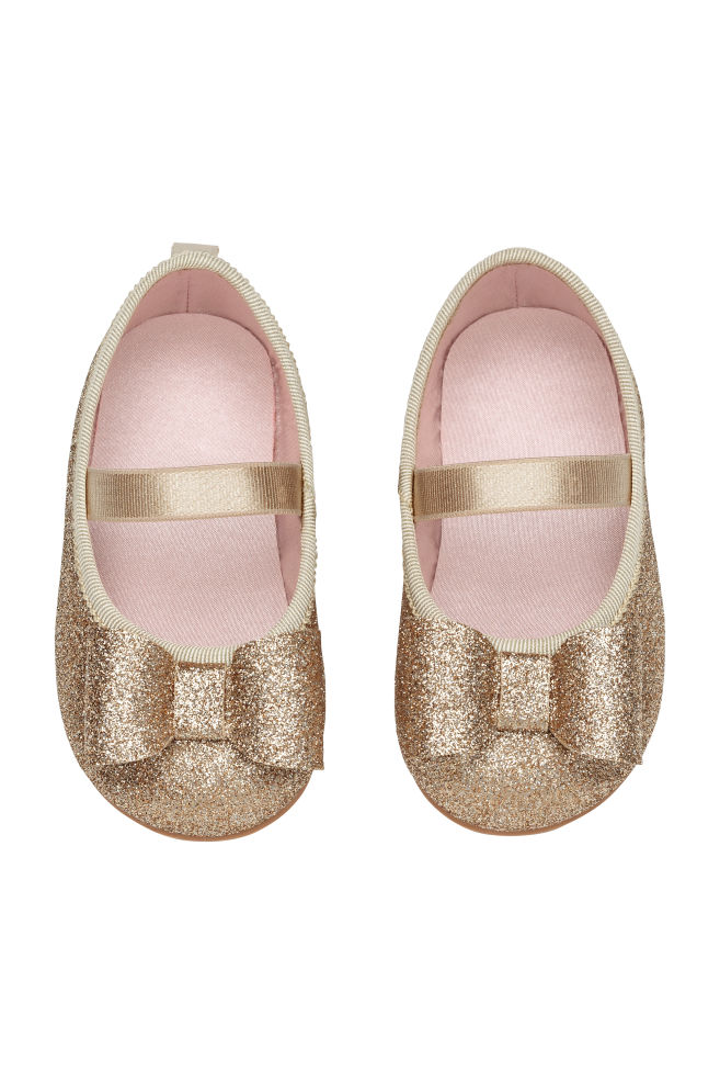 5584743471c Ballet pumps - Gold-coloured Glitter - Kids