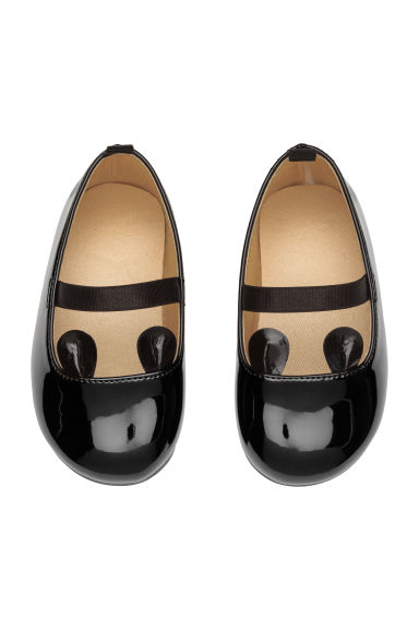 Ballet pumps - Black/Patent -  | H&M CN