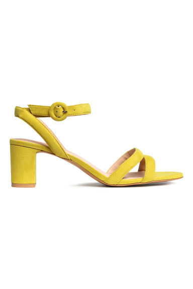 Sandals - Yellow -  | H&M