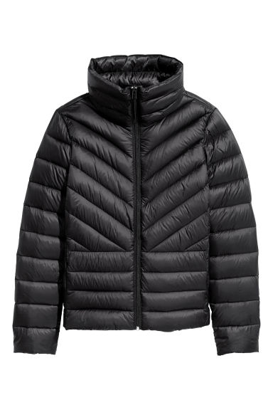 Lightweight down jacket - Black - Ladies | H&M